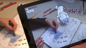 Disney AR Colouring Book