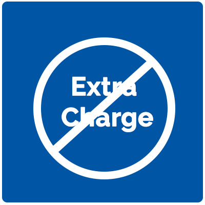 No Extra Charge for Weekends or Afterhours Appointments