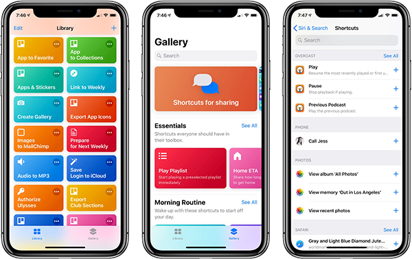 iOS - Siri Shortcuts