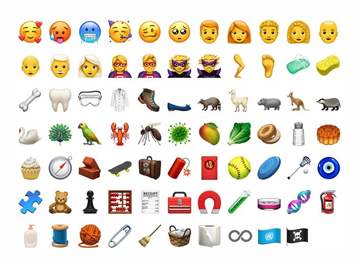 iOS 12 - New Emoji Set