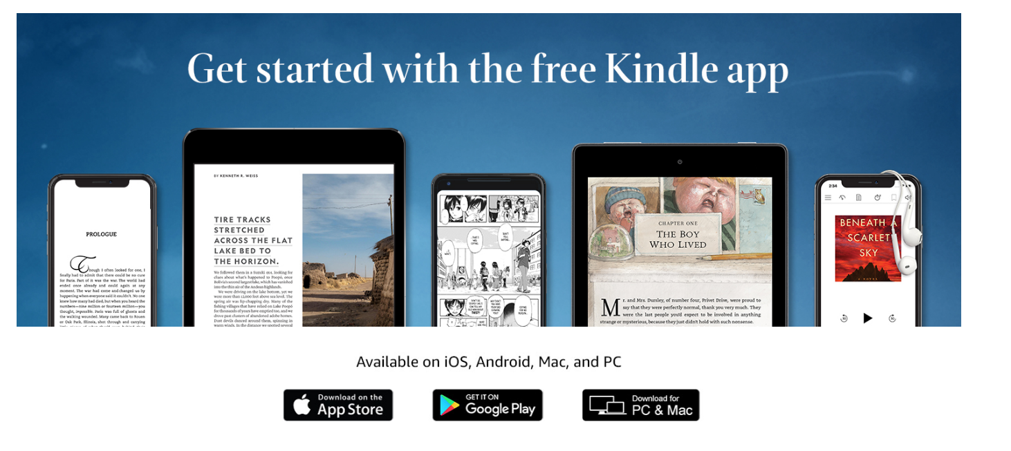 Read Kindle Books with this Kindle App.