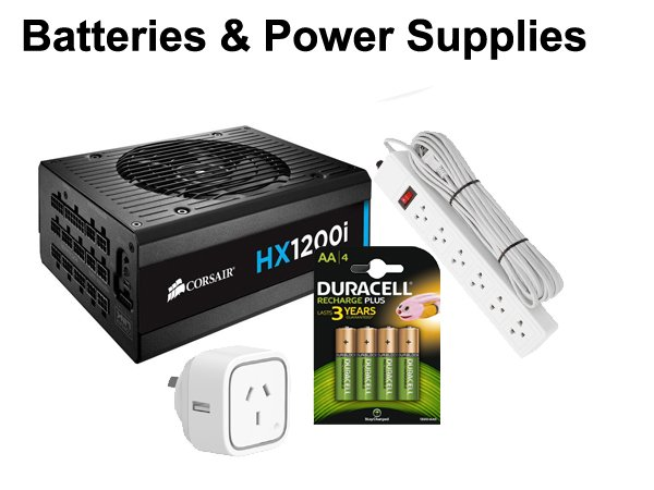 Batteries & Power Supplies