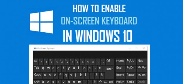 how to enable windows 10 keyboard