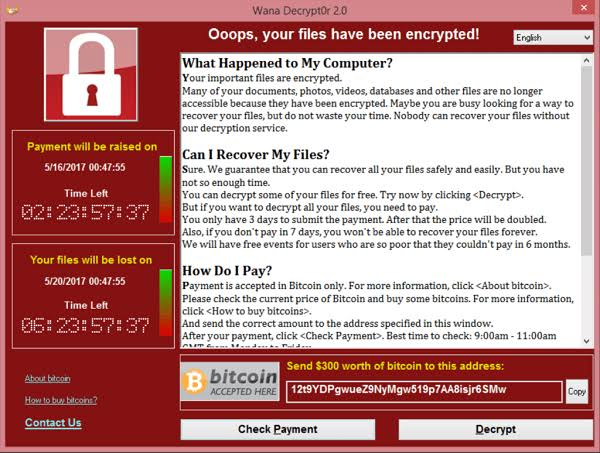 cryptolocker bitcoin ransom