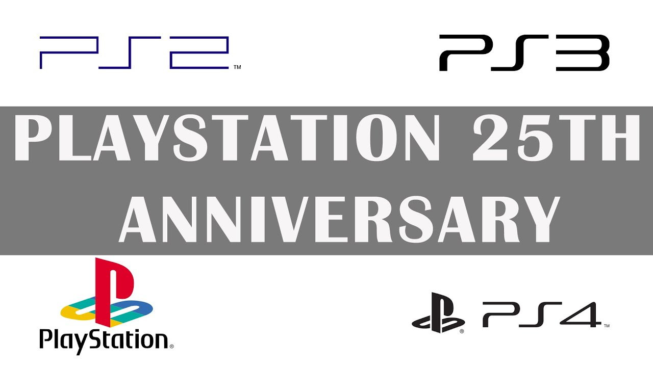 Playstation 25th Birthday