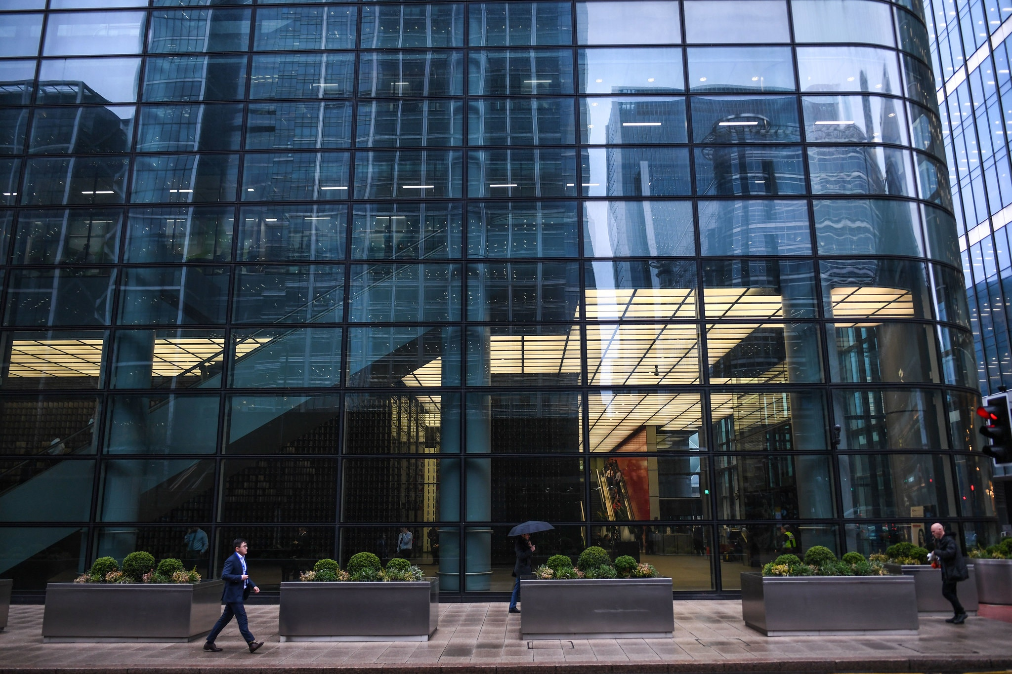 HSBC's headquarters in London, where an employee tested positive for the coronavirus COVID19