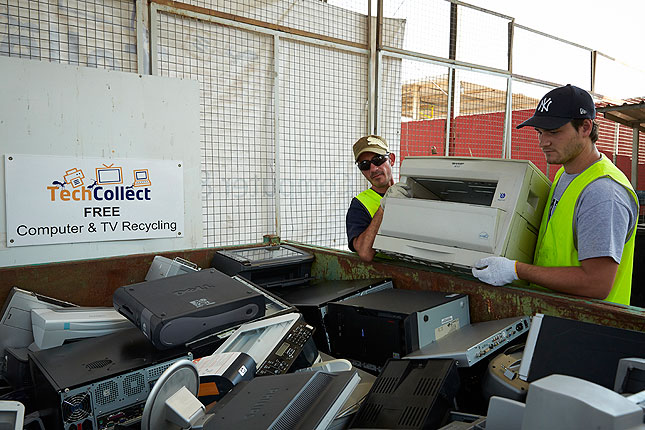 TechCollect Computer and TV Recycling