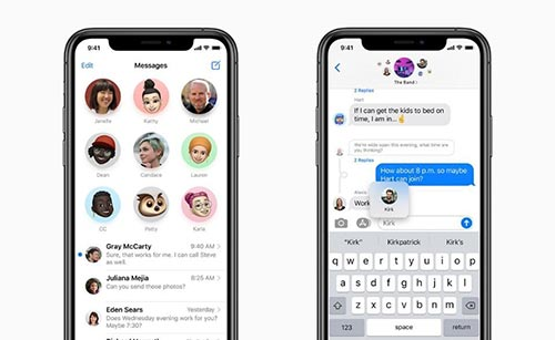 iMessage - iOS 14 features