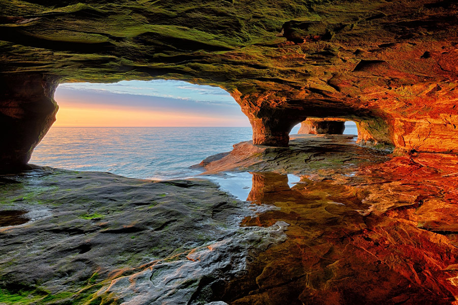 Pictured Rocks National Lakeshore United States