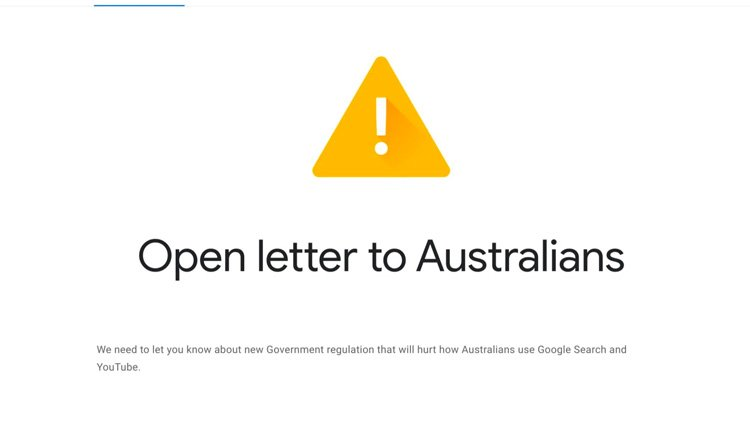Should Google and Facebook pay for news in Australia