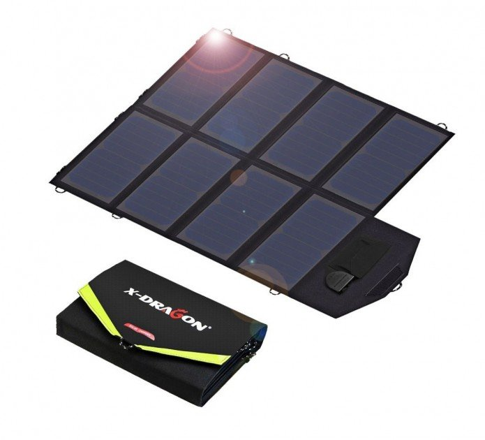 X DRAGON 40W SunPower Solar Panel Charger