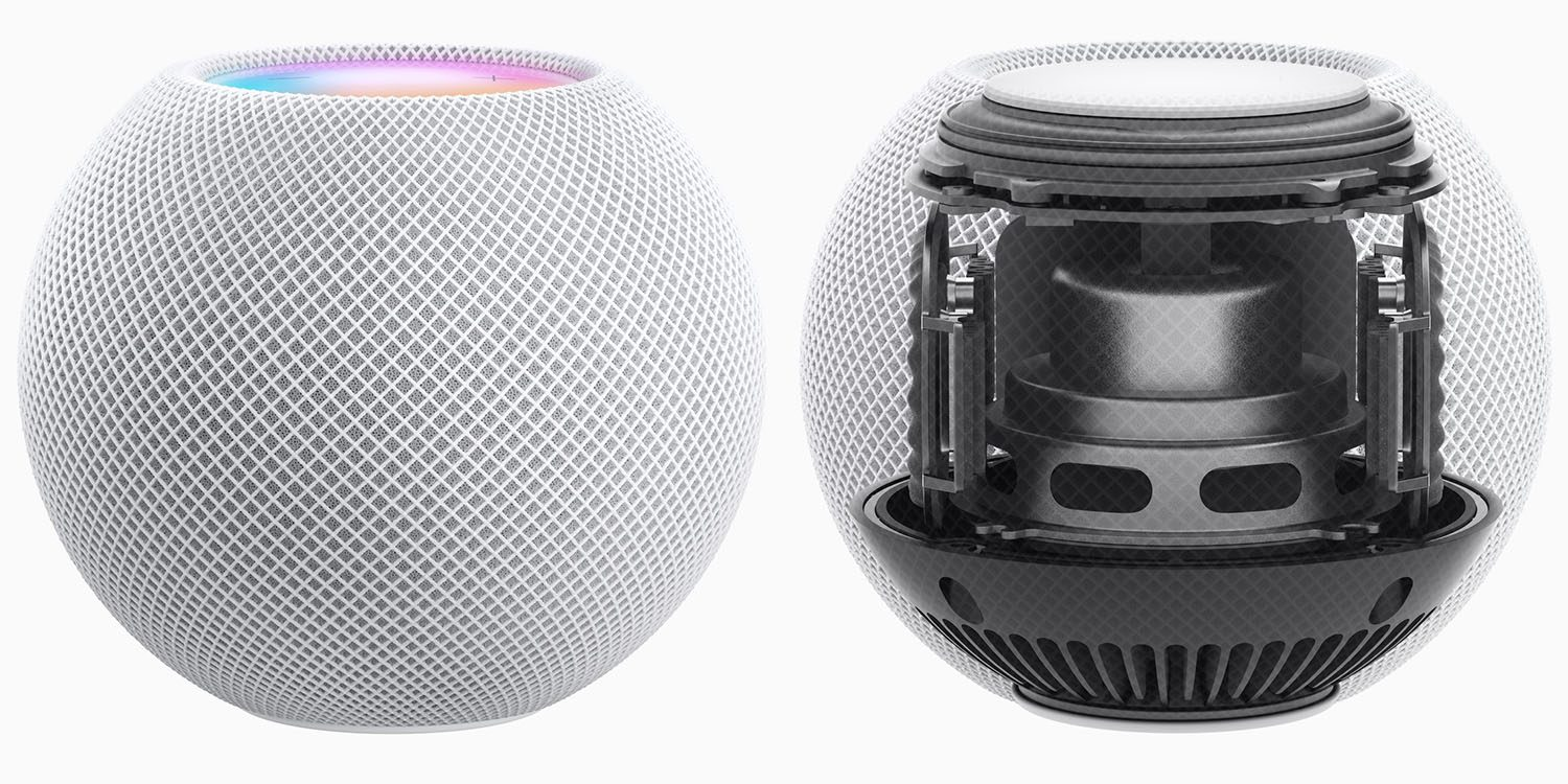 Insides of HomePod mini