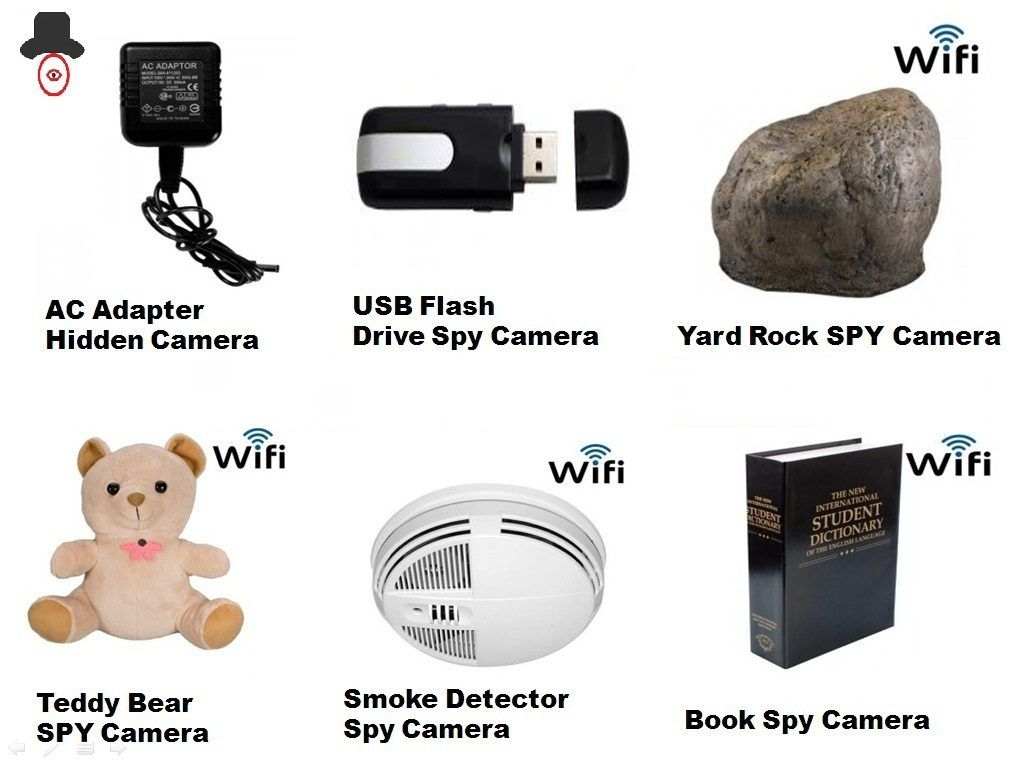 items spy camera hidden airbnb