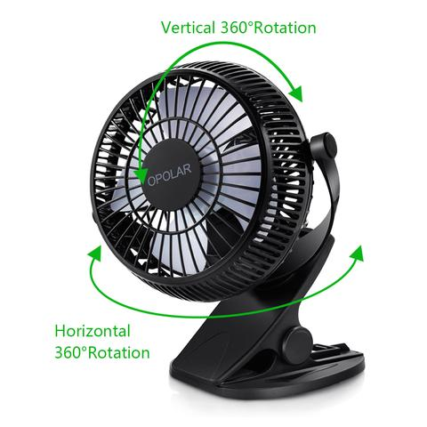 Rechargeable Moving Fan