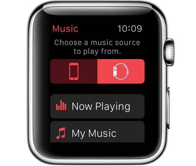 apple watch Play music from apple watch