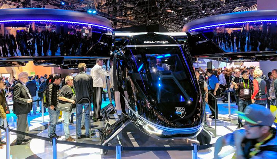 Flying Vehicles and Tech From CES 2021