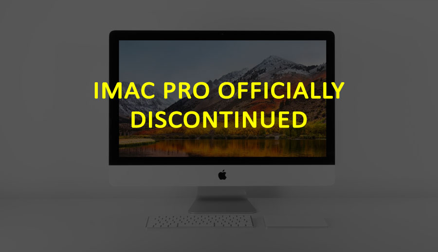 iMac Pro Officially Discontinued